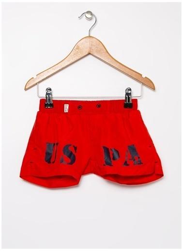 U.S. Polo Assn. Mayoşort Kırmızı